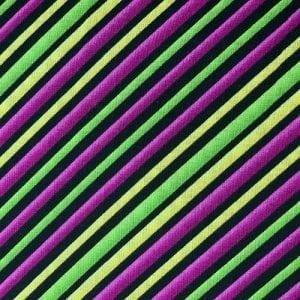 Lime Diagonal Stripe