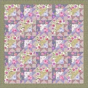 Love Blooms Quilt Kit