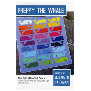 Quilt Pattern Preppy The Whale