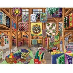 Quilted With Love 1000pc