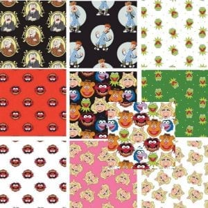 The Muppets: 10 x Fat Quarter Pack