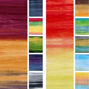 Batik: Tonga Saturn/ Watercolour Stripe