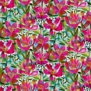Alfie Summer Roses Fuchsia 52296D-2