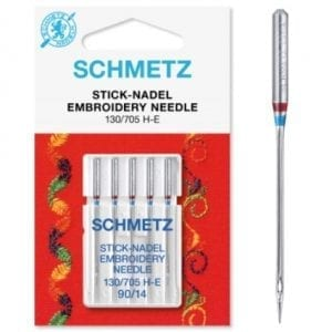 90 Schmetz Embroidery Sewing Machine Needles