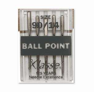 Size 90/14: Jersey/Ballpoint Needles (5 pack) Klasse