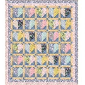 Bunny Hop Quilt Kit Blue