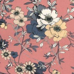 Cotton Lawn C8822-Rose