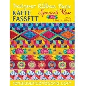Designer Ribbon Pack Spanish Rose