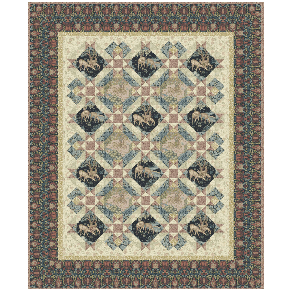Earthly Treasures Quilt Kit