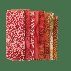 Flame Batik Fat Quarter Pack
