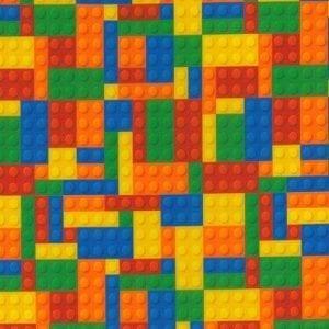 Cotton Prints JLC0318 Bricks