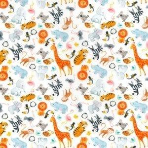 Cotton prints JLC0336-White