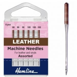 Leather machine sewing needles H104.99
