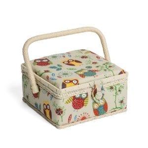 Sewing Box MRS\29 Owl