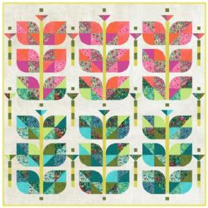 beanstalk quilt kit using Alfie fabrics_1