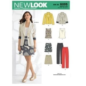 New Look Pattern 6035
