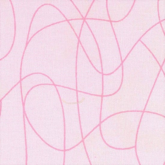 Extra Wide Backing Fabric Squiggle