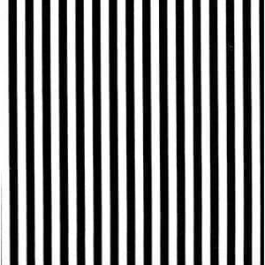 85190 BlackWhite Stripe - Col. 1