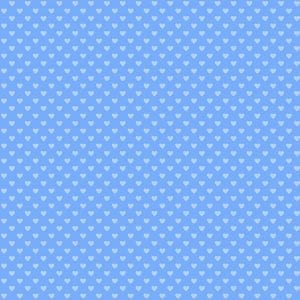 Hearts Periwinkle 9149-B1