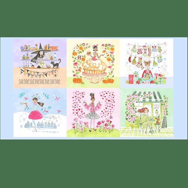 Calendar Girls PWAK006.xpanel