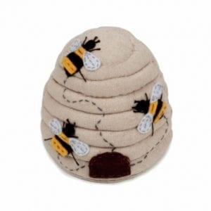 Pin Cushion with Bee Design