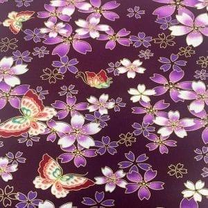 2293.08 Purple Butterfly: Japanese Met