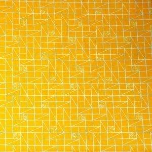 Paw Prints 2522-02 Yellow