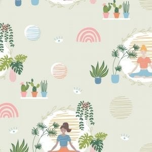 Yoga Wellness Meditation