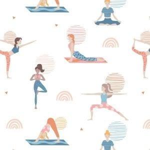 Yoga Wellness Poses