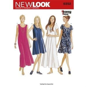 New Look Sewing Pattern 6352