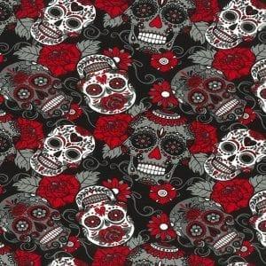 Cotton Spandex JLJ0291 Red
