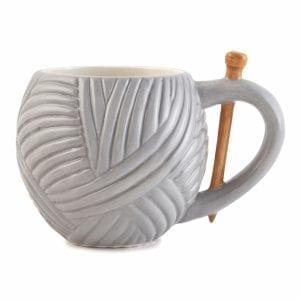 Mug Yarn Ball Grey