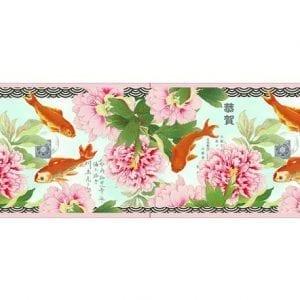 Designer Velvet Borders Goldfish