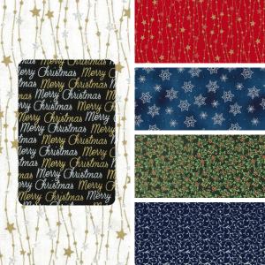 Christmas Metallic & Glitter Blender Prints