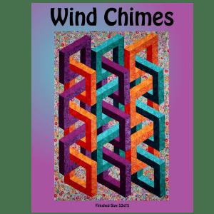 Wind Chimes Pattern QC-843