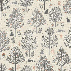 Makower Hedgerow 2416-S Trees
