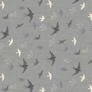 Makower Hedgerow 2421-S Swallows