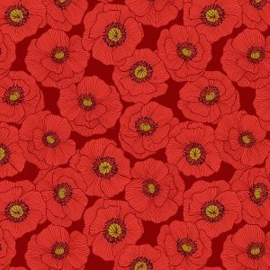 Poppies A554.2 Red