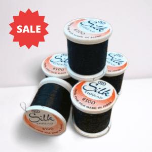 Black Silk Thread YLI