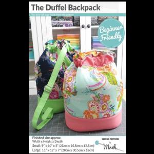 Duffel Backpack Pattern