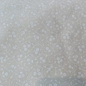Ivory floral neutral