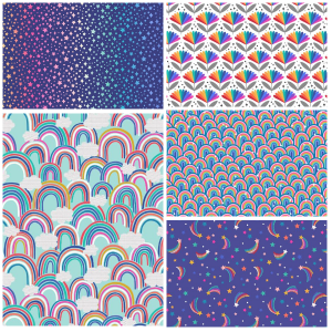 Over the Rainbow Fat Quarter-Two