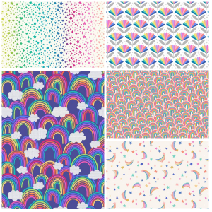 Over the Rainbow Fat Quarter-One