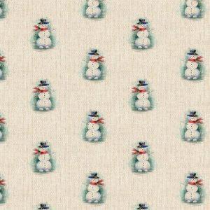 Christmas Snowman Allover DCA046