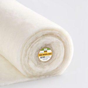 wool/ Polyester wadding