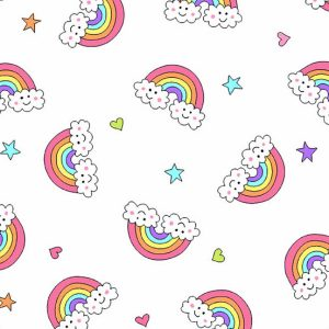 Believe 2-9904L Rainbow White