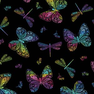 Rainbow Garden 2-9897K Butterflies