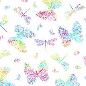 Rainbow Garden 2-9897L Butterflies