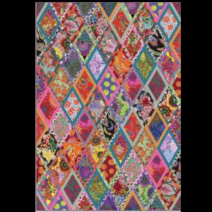 Bordered Diamonds Quilt Kit