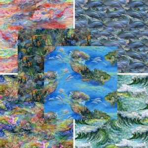 Call of the Sea Fat Quarter Pack